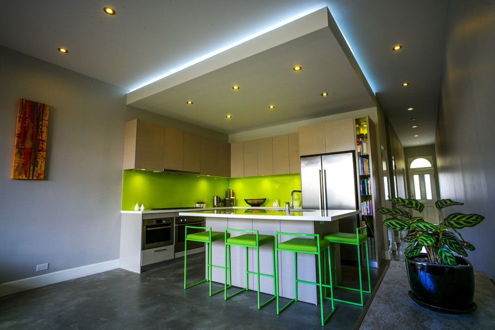 Kitchen contemporary with ceiling lighting entry house kitchen like the kitchen ceiling lighting idea contemporary kitchen by zugai strudwick architects mozeypictures Choice Image