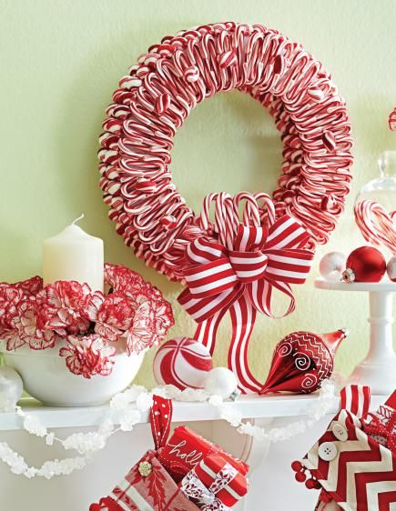 50 Beautiful Holiday Wreaths | Holiday wreaths, Wreaths and Wreath ...