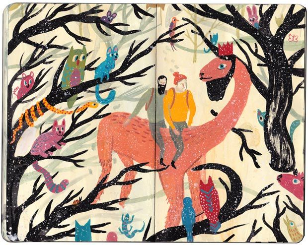 Dibujos En Libretas Ii: Nicholas Stevenson