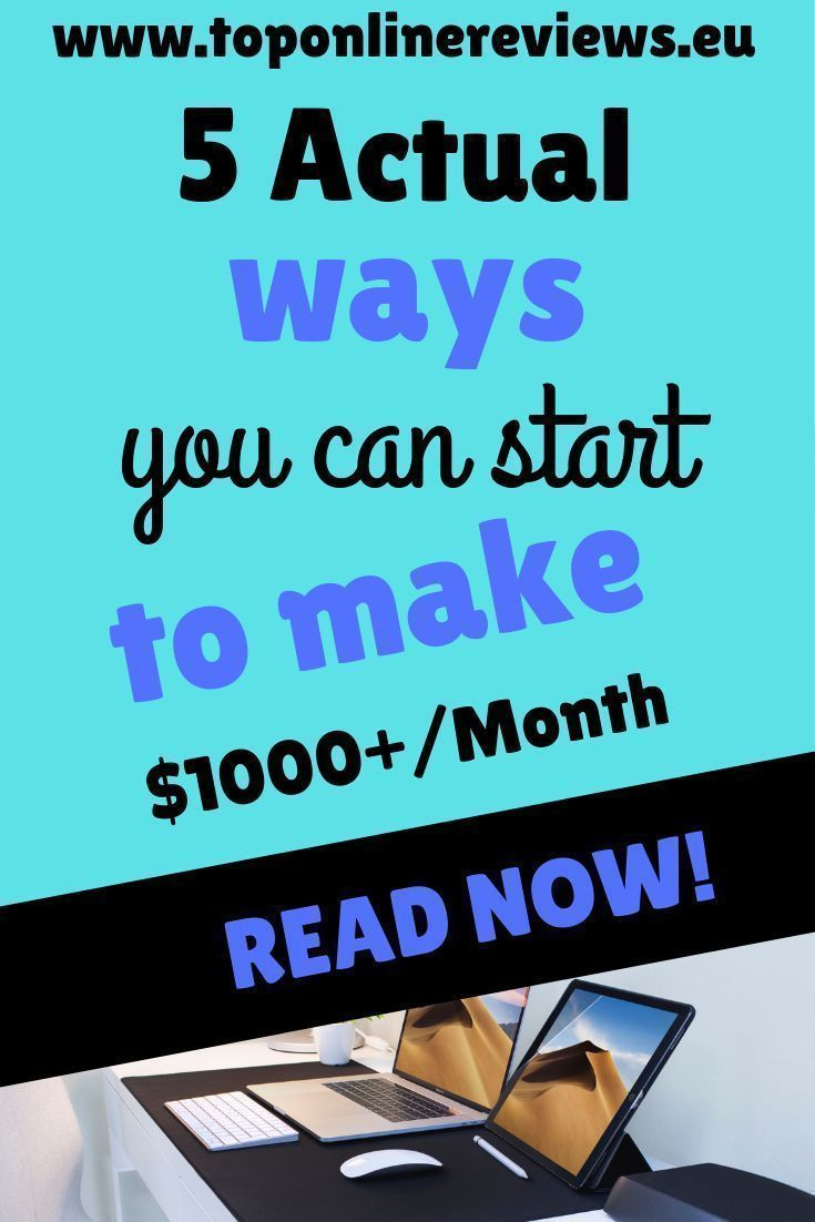 HOW YOU CAN MAKE AN EXTRA $1,000 A MONTH - 5 SIMPLE IDEAS ...