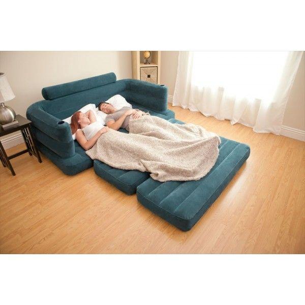 Velvet Air Sofa Bed Air Sofa Bed Pinterest Air sofa bed