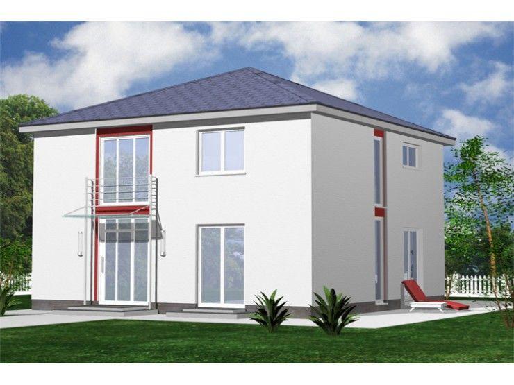 Fertighaus modern walmdach  City 127 - #Einfamilienhaus von STIMMO Hausbau GmbH | HausXXL ...