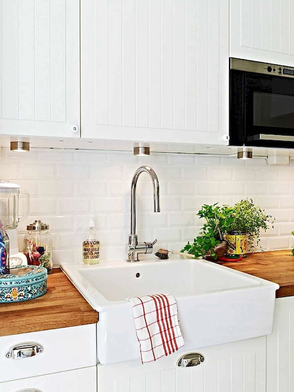 Favorite Colorful Kitchen Decor Ideas And Remodel For Summer Project Frugal Living Farmhouse Sink Kitchen Ikea Kitchen Kitchen Inspirations
