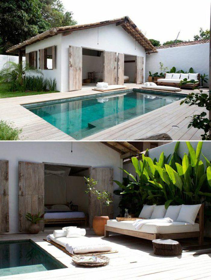 ▷ 1001+idées d\'aménagement d\'un entourage de piscine | Lap pools ...