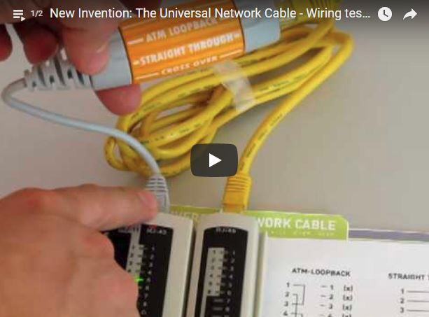 The Universal Network Cable – Wiring Test With Cable Tester ... on electrical grounding, electrical receptacle types, electrical volt, electrical wire, electrical fuses, electrical diagrams, electrical cord, electrical energy, electrical repair, electrical fire, electrical circuits, electrical equipment, electrical tools, electrical cables, electrical technology, electrical engineering, electrical contracting, electrical conduit, electrical box, electrical shocks,