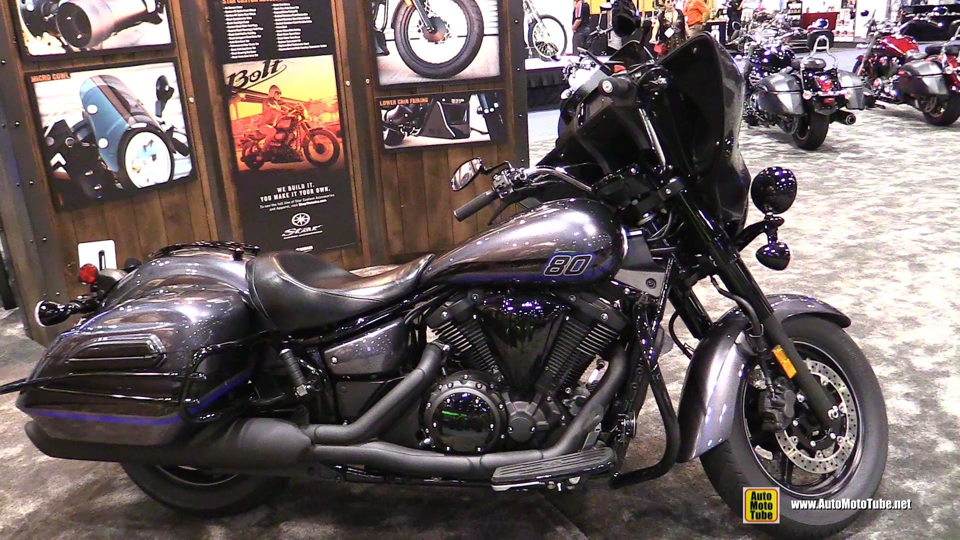 2016 yamaha v star 1300 deluxe walkaround at 2015 american for Yamaha motorcycle store near me