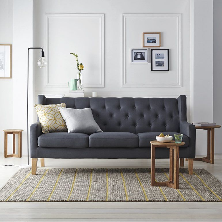 Navy Crisp White Natural Wood And Soft Pops Of Colour A Beautiful And Elegant Colour Pallet For Any With Images Freedom Furniture Living Room Inspiration Board Furniture