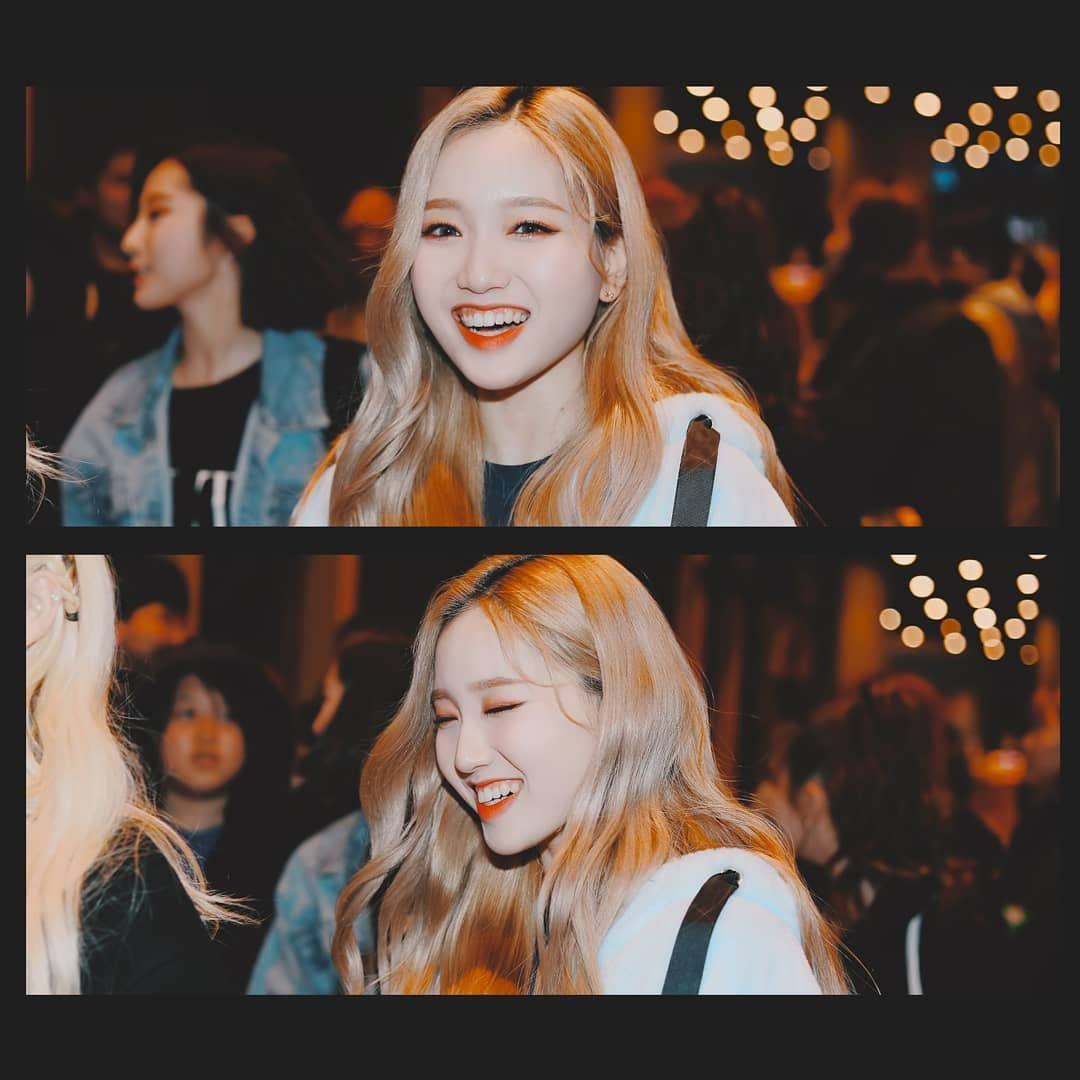 Fan Account On Instagram She S So Gorgeous I Might Cry Gowon Loona Kpop Girls Kpop Girl Groups