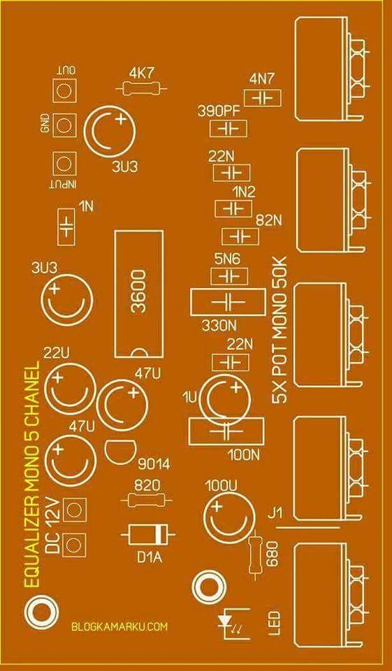 Marvelous Pcb Equalizer 5 Channel Aparatos Circuit Board Design Layout Wiring Cloud Favobieswglorg