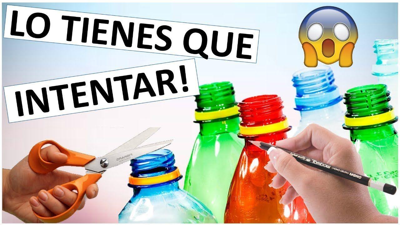 Manualidades Faciles Y Rapidas Con Botellas De Plastico Para - Manualidades-rapidas