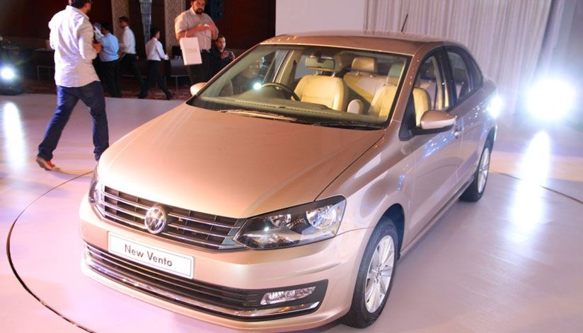 The Volkswagen Vento revamp obtains three-slat chrome grille, more noticeable lines on the cover, a reshaped fore fender along with fresh fog lamp carvings.