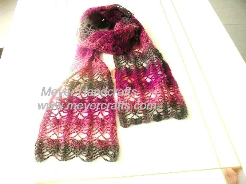 Crochet Scarf Patterns Fancy Crochet Scarf Crochet For Beginners