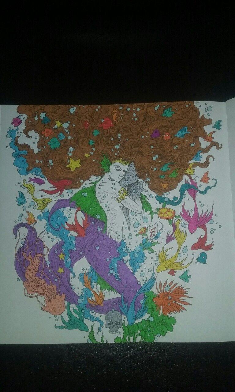 Coloriage Adulte Marabout.Mythomorphia Carnet De Coloriage Et Jeu D Observation Kerby Rosanes
