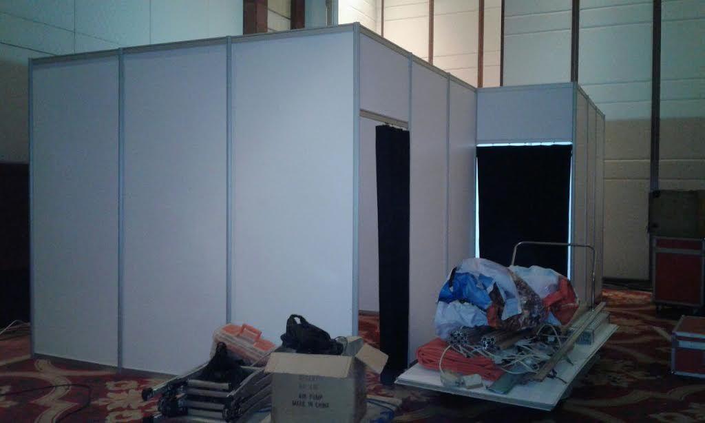 Sewa Partisi Fitting Room Murah Tenda Besar Storage Penyewaan