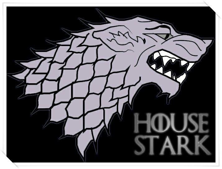 House Stark GAME Of Thrones  Stark Sigil