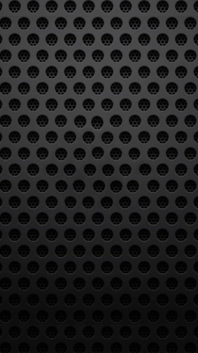 Abstract Minimal Simple Black Cell Pattern Iphone Wallpapers