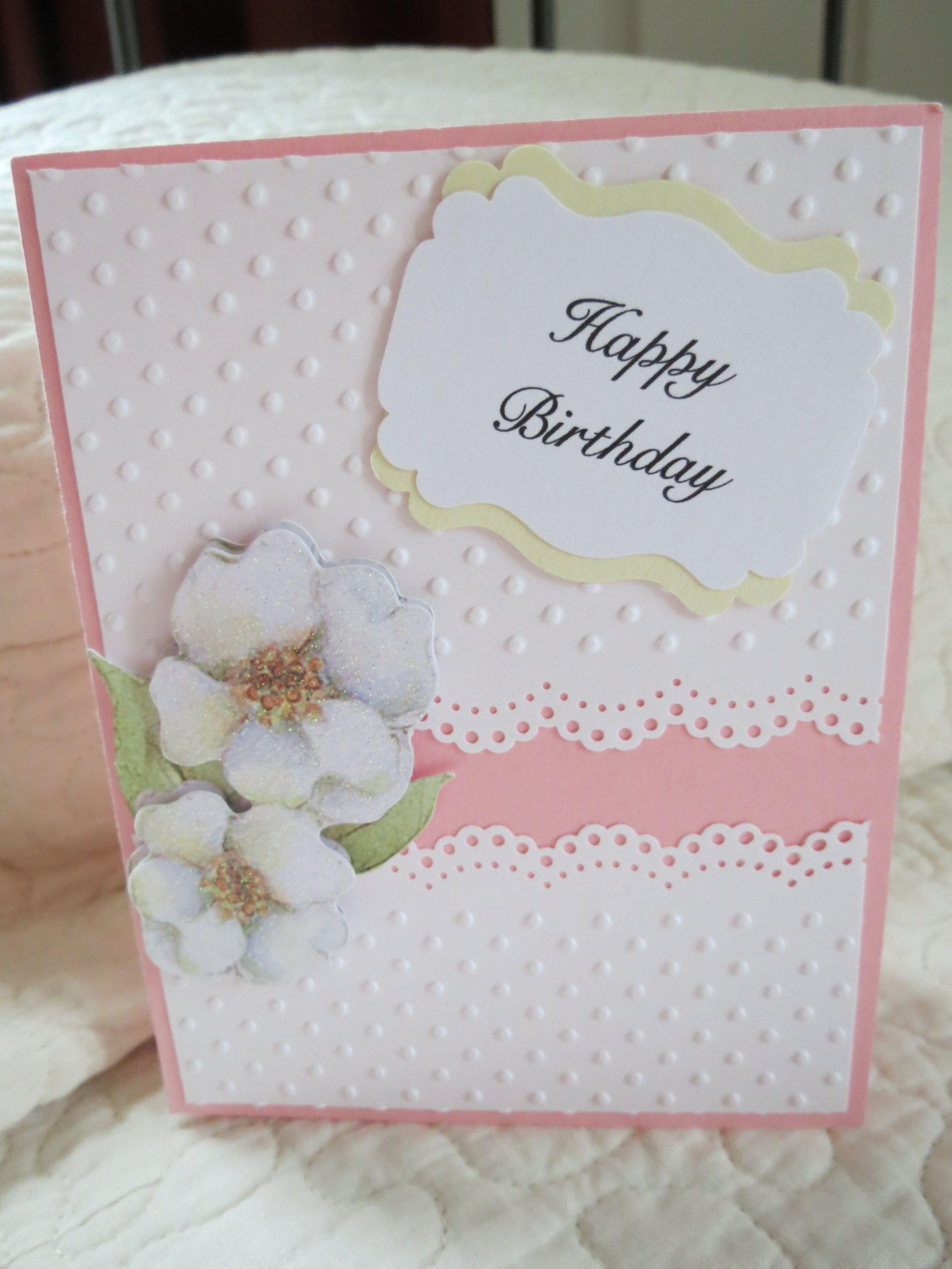Happy Birthday card; 3-d sticker; Greeting from SU My Digital Studio ...