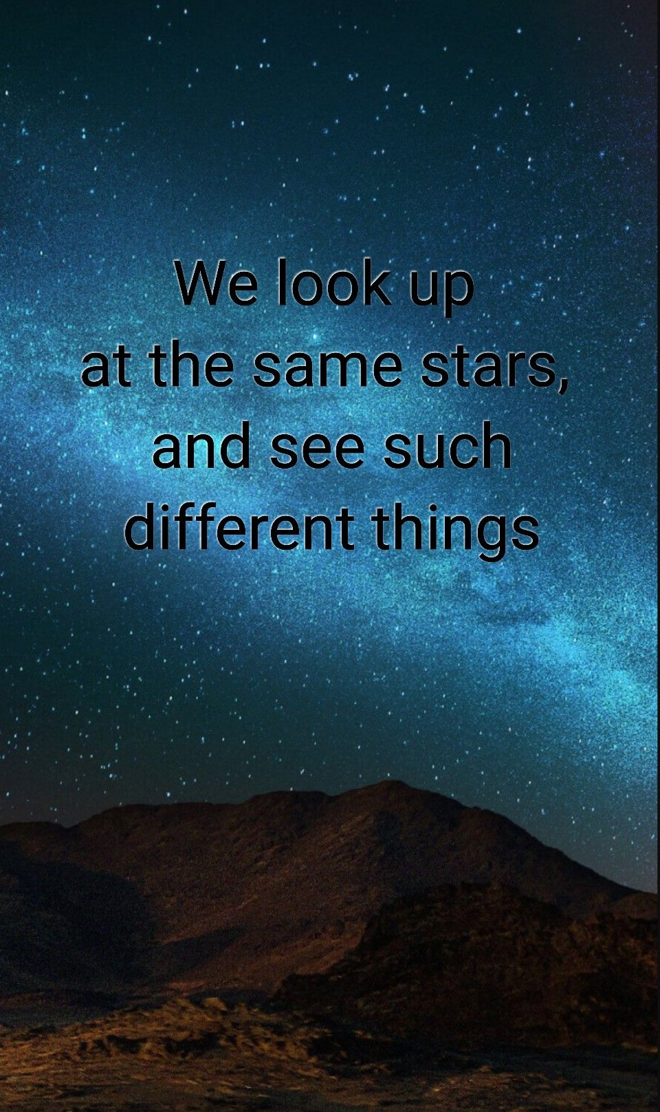 Tumblr Quote Sky Tumblr Love Sky Stars Background Quote Bleu