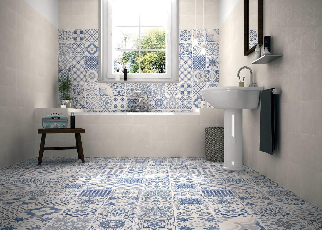 Il rivestimento bagno tra piastrelle e gres porcellanato bagno