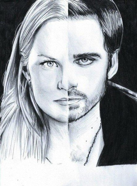Colin O'Donoghue -Killian Jones - Captain Hook -Jennifer Morrison - Emma Swan on Once Upon A Time