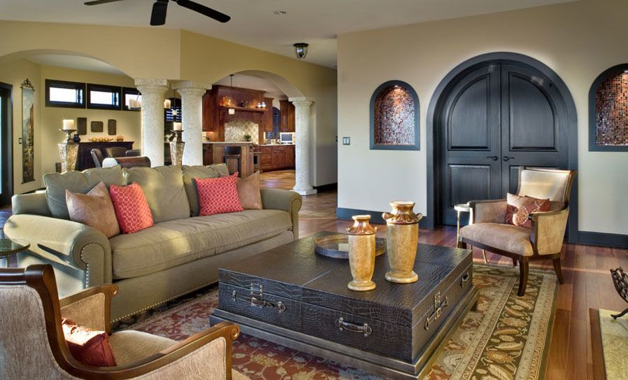 Mediterranean Style Home With Rustic Elegance Idesignarch