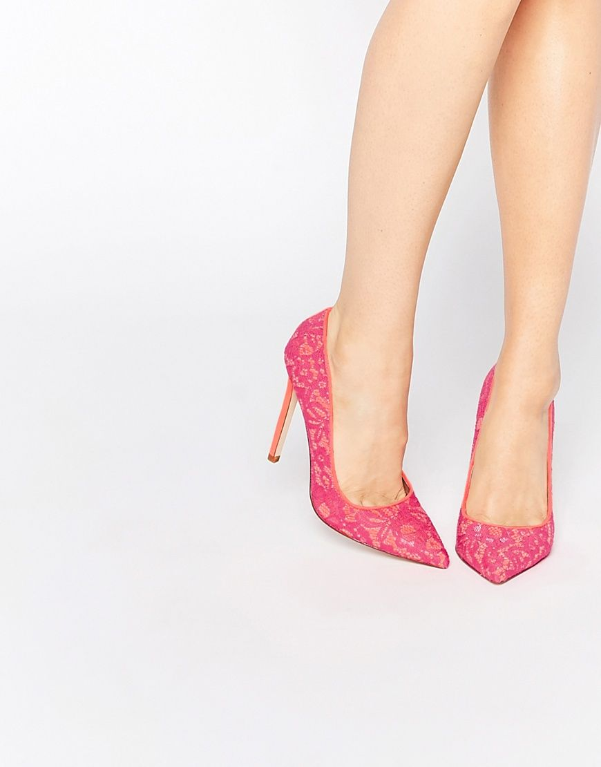 Image 1 of ASOS PHILI Pointed High Heels