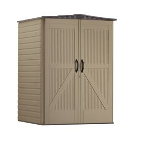 Rubbermaid Roughneck Gable Storage Shed Common 5 Ft X 4 Ft