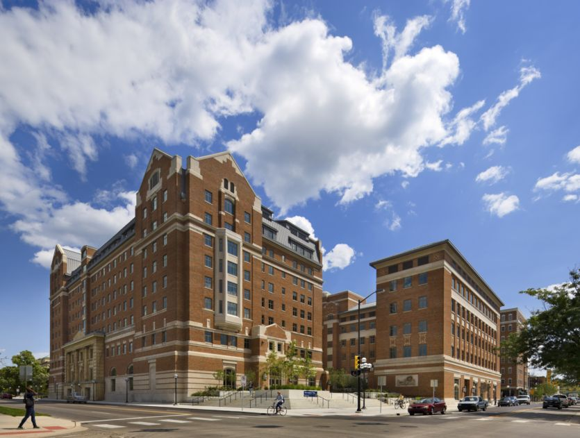 North Quad Residential and Academic Complex. The University of Michigan. Ann Arbor. Michigan | Architect. Landscape architect. Academics