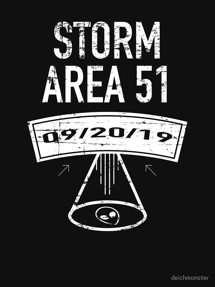They Can't Stop Us All - Storm Area 51 Lightweight