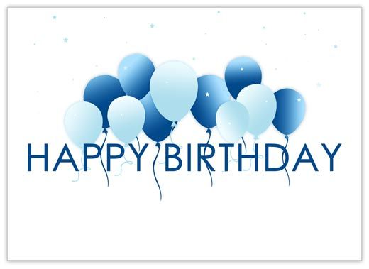 Words Wishing Someone A Hy Birthday Home Business Greeting Cards Floating Balloons