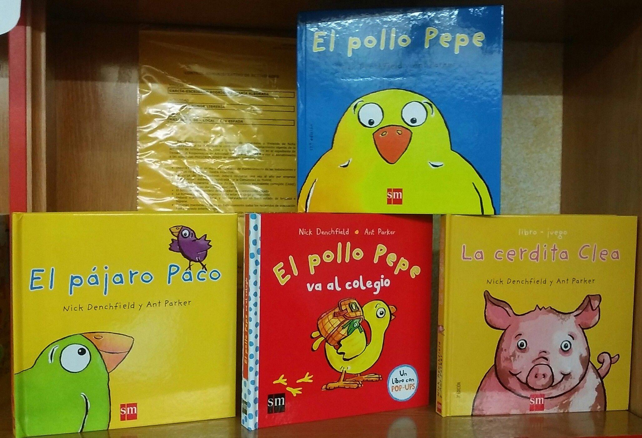 El Pollo Pepe y sus amigos están triunfando en todas las guarderías #libros  #PopUp