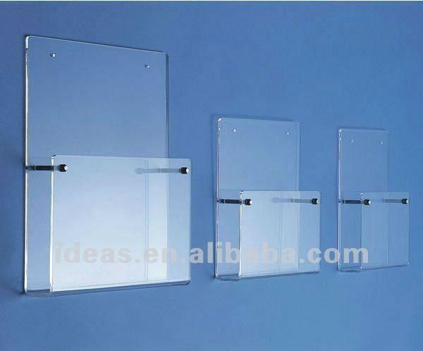 Fashion Acrylic Wall Mounted File Holder 3 20 Wall File