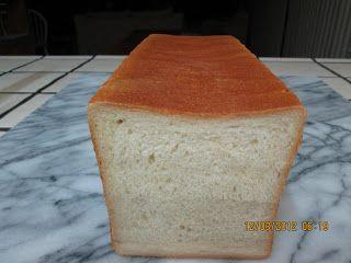 Mima B's Recipes    Homemade sandwich bread using a pullman loaf pan