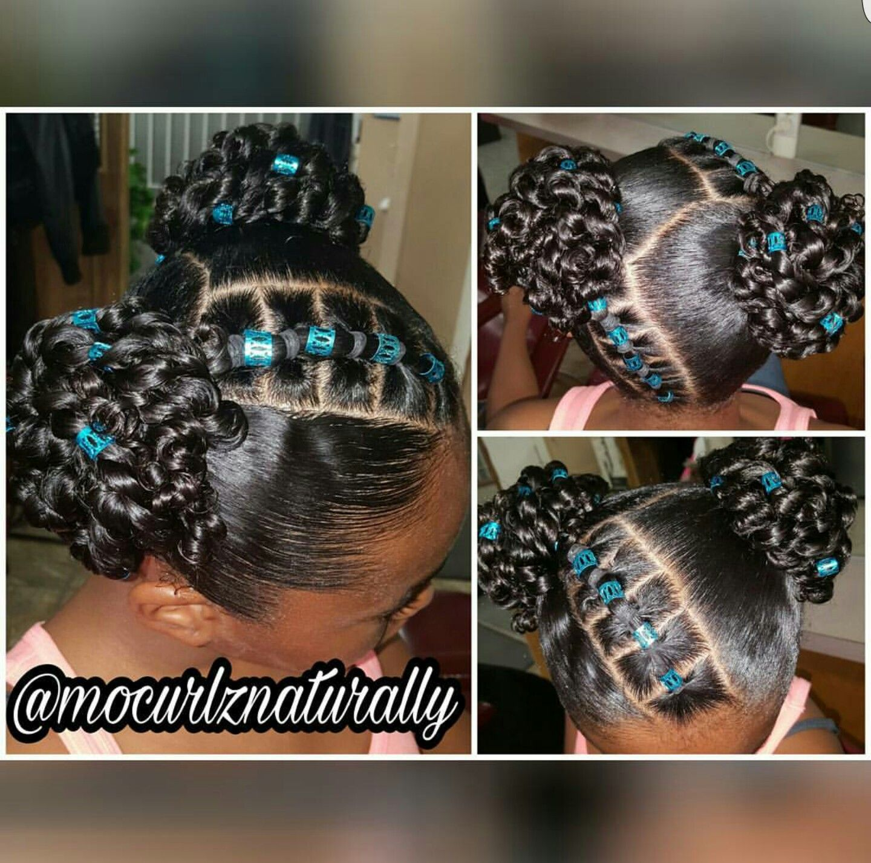 Black Kids Hairstyles Xoxo Jaydakiss Pinterest Black