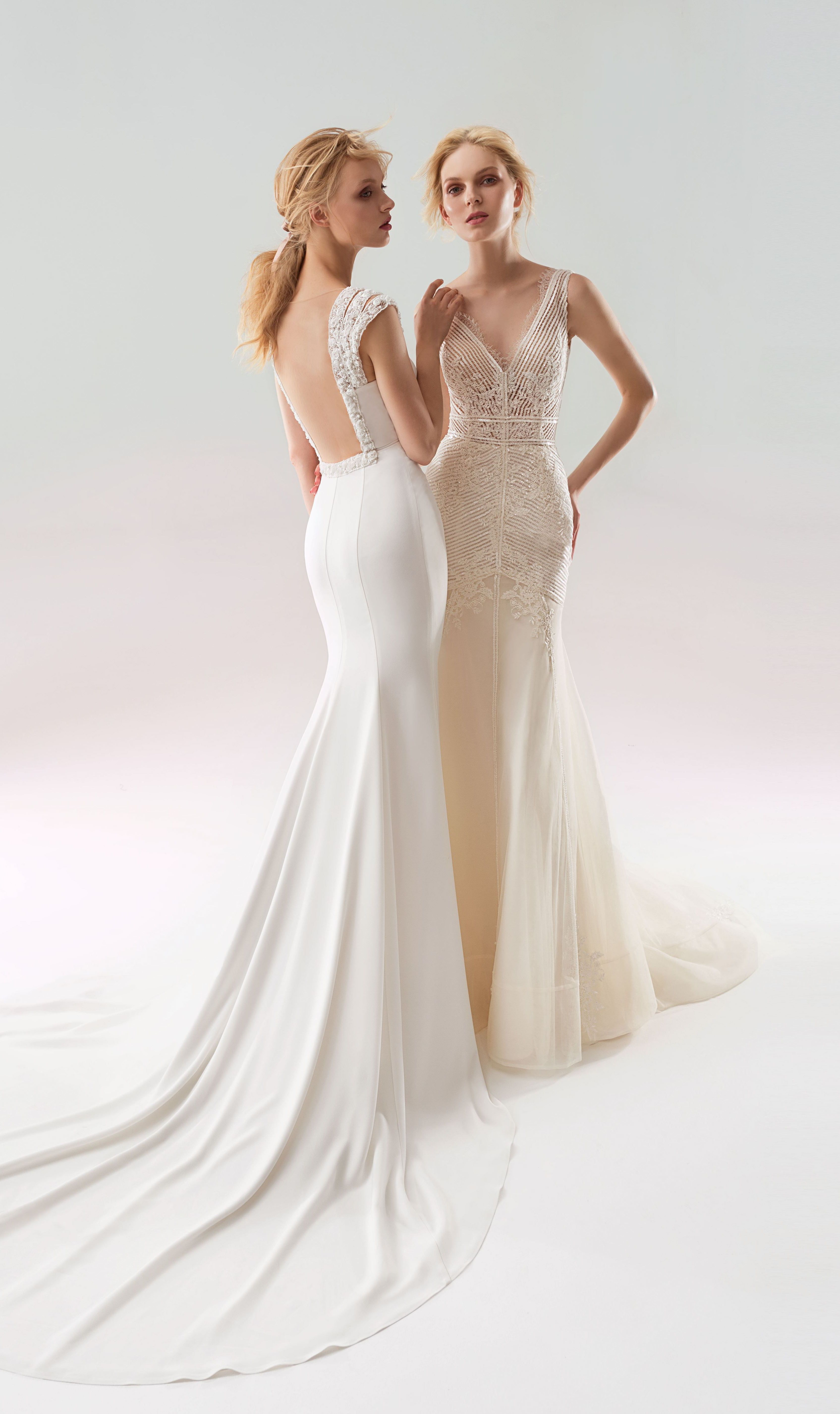 This New Slimming Papilio Wedding Gowns Are Right Out Of 2019 Catalogue A Little Sneak Peak For All The Fans Clic Mermaid Dress Style