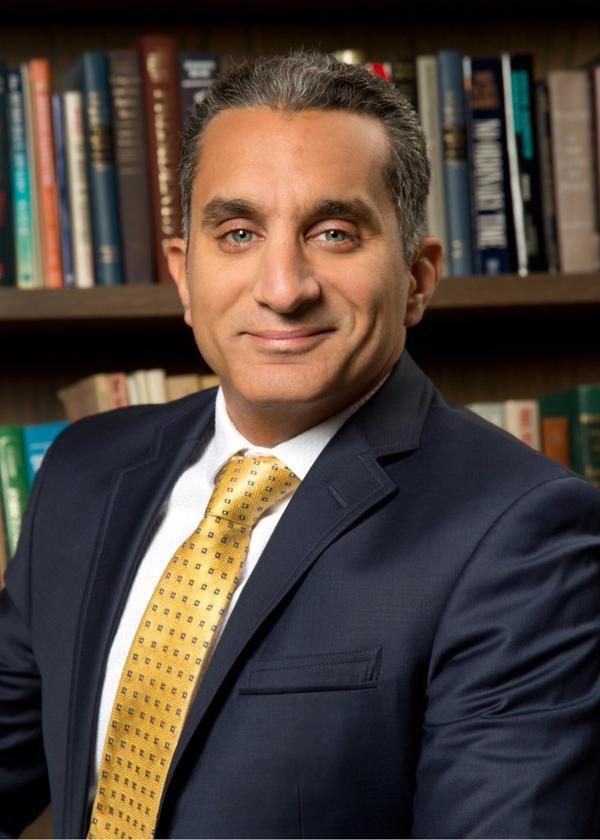 الاعلامى باسم يوسف ينشر اول صورة له الان على حسابه الشخصى تويتر بمعهد بهارفارد وتعليق ساخر صورني وأنا واخد بالي Fashion Egypt Tie