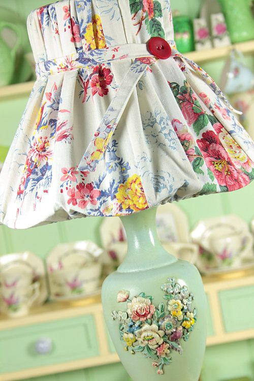 Awesome lamp shade! | Sewing Love | Pinterest | Lamp ...