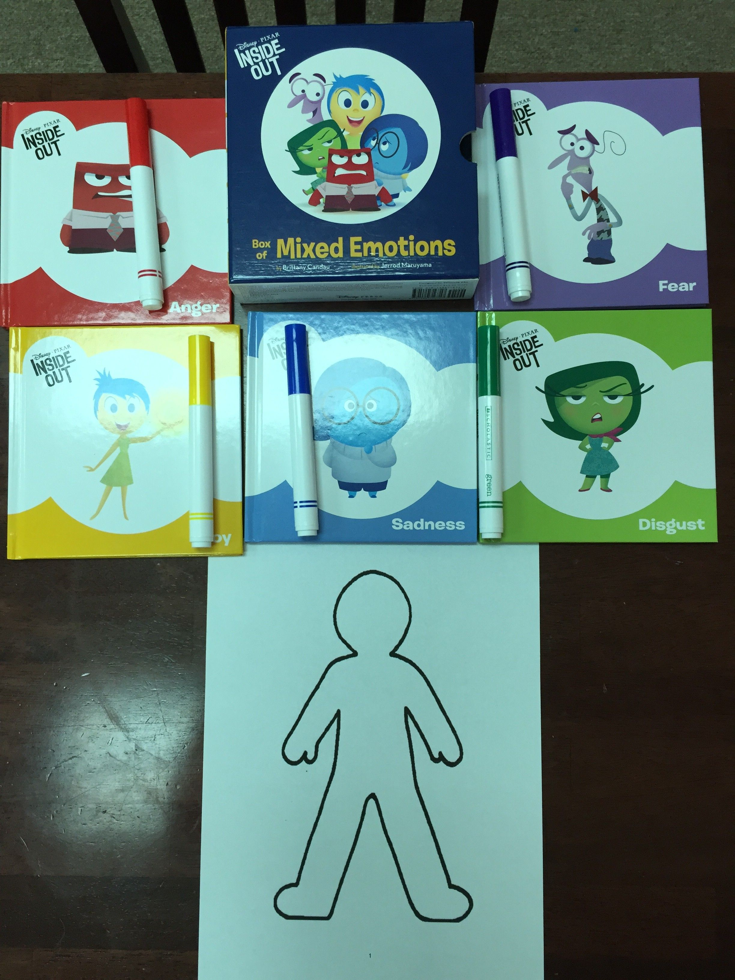 Feelings Activity Inside Out Feelings With Images