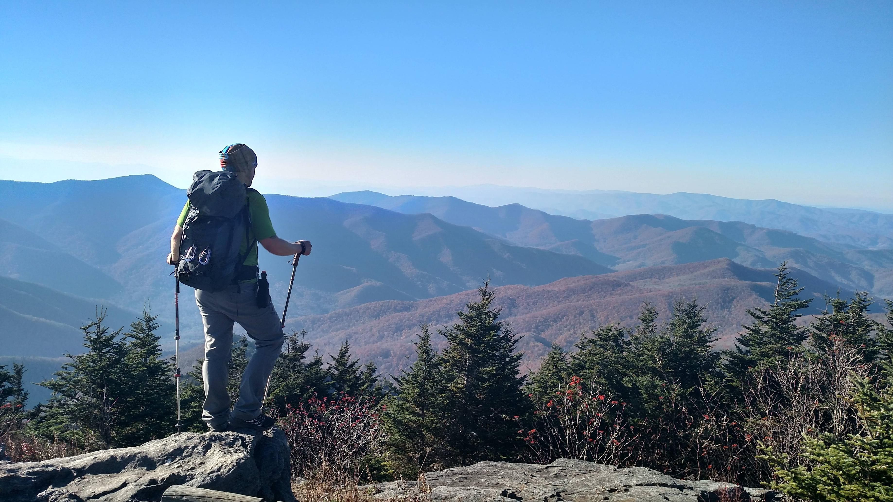 outdoor nature mountains. Black Mountain Crest Trail In Western NC #hiking #camping #outdoors #nature # Outdoor Nature Mountains