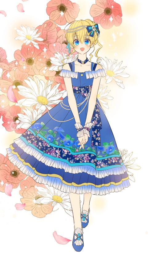 Tappytoon Comics Webtoon Anime Romance Fantasy Isekai Cute Whomademeaprincess Dress Costumedesign Princess Flowers Anime Minh Họa Manga Cong Chua