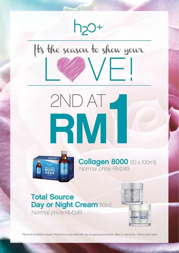7 May 2016 Onward: H2O+ Mother's Day Promotion