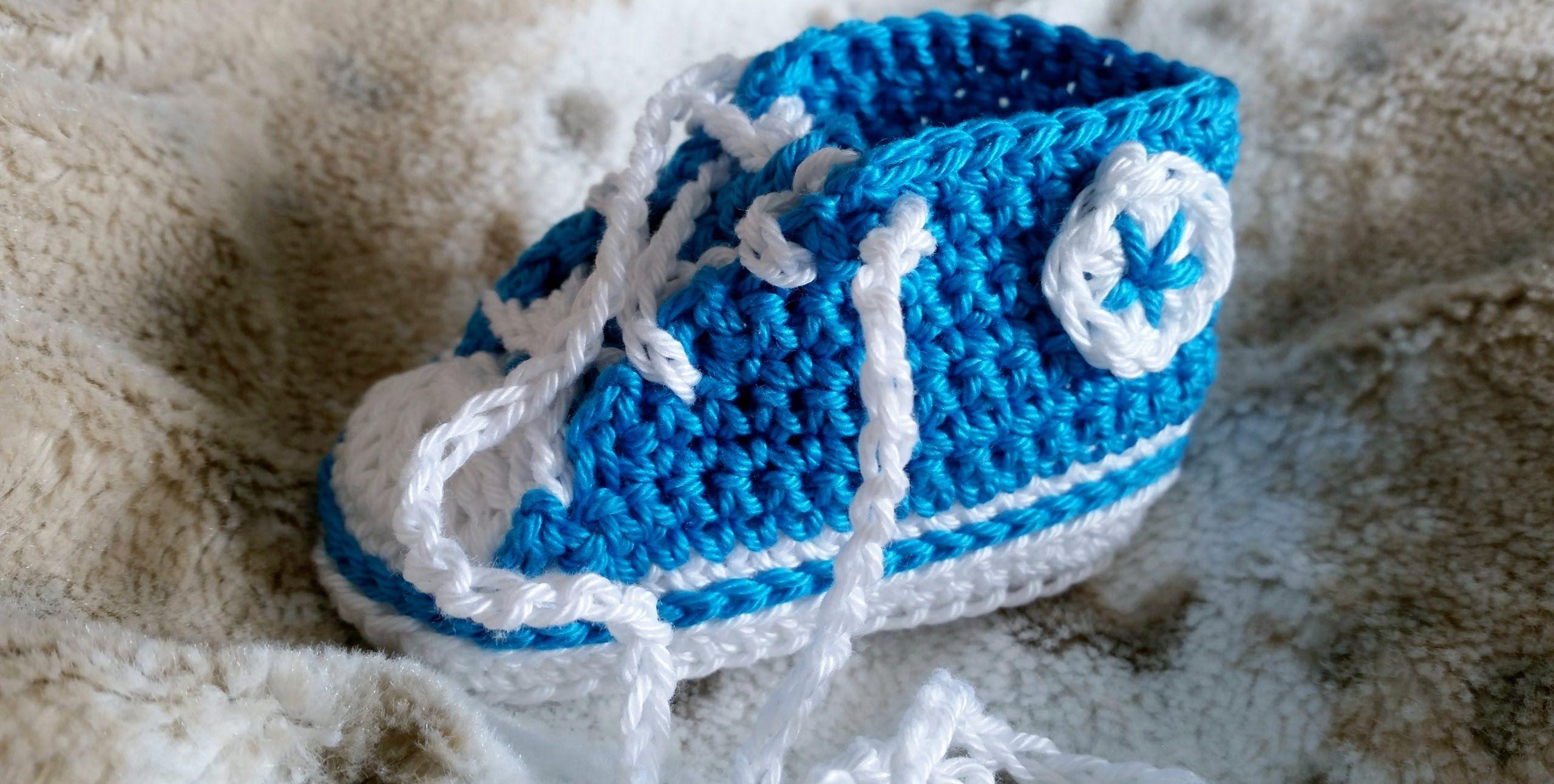 Sneakers para bebés Tejer zapatillas de deporte – Parte 1