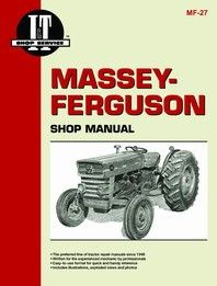 Massey Ferguson Tractor Service Manual It S Mf27 Download Books Books Online Pdf Books