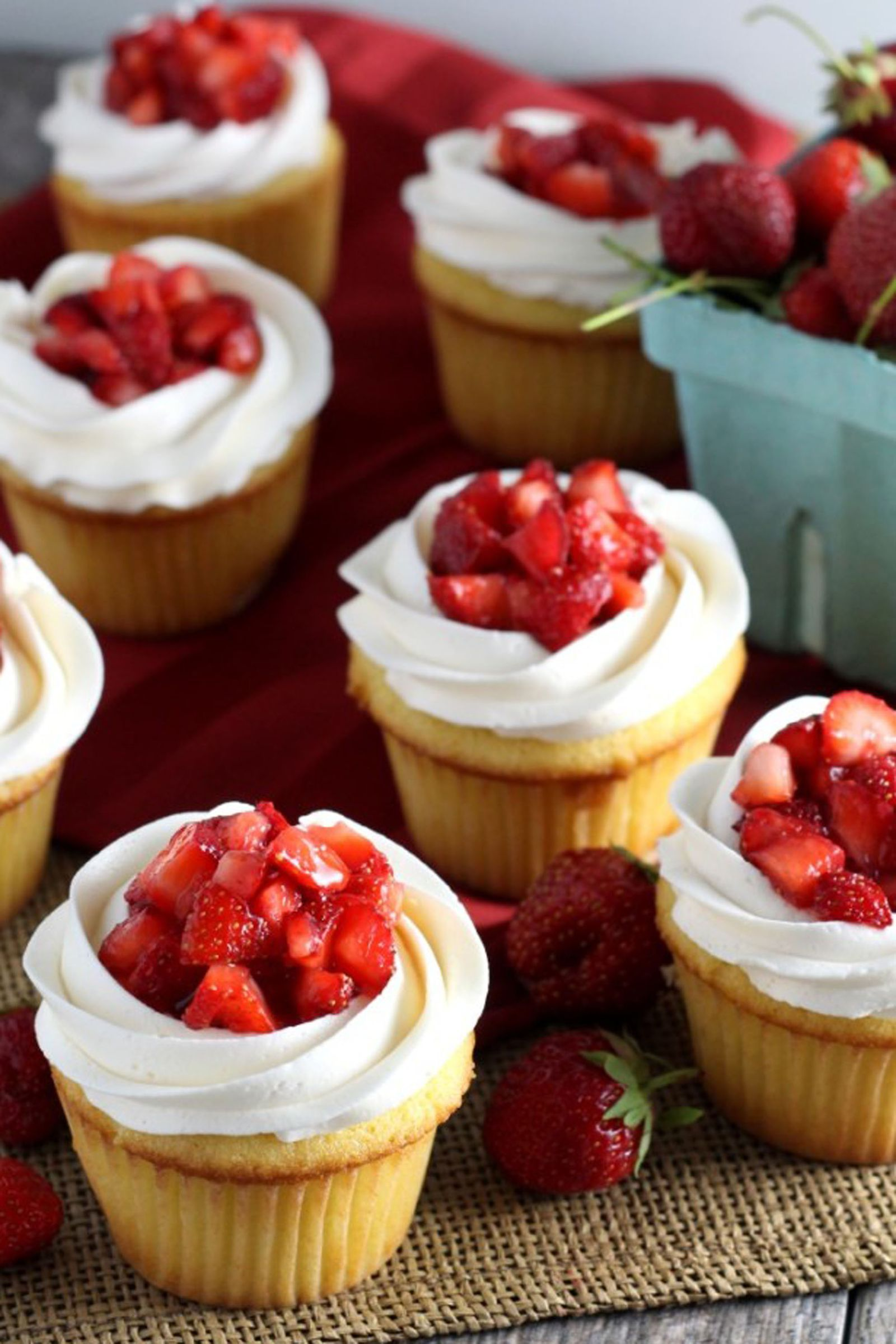 cutest cupcake recipes for your easter table strawberry