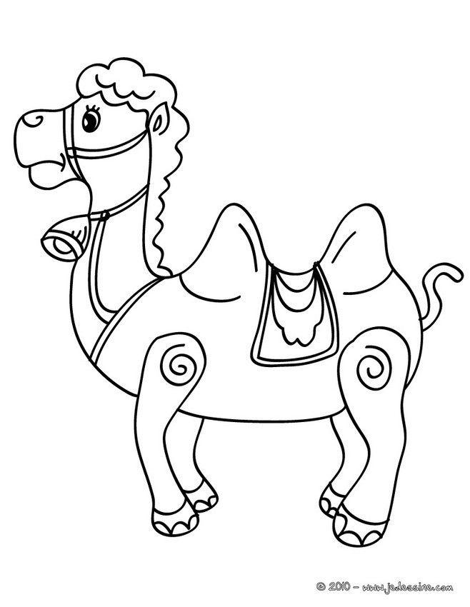 coloriage d 39 un chameau deux bosses un coloriage original et un moyen ludique de faire. Black Bedroom Furniture Sets. Home Design Ideas