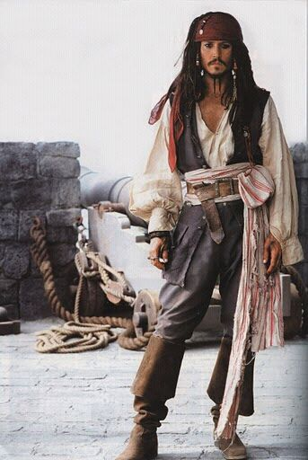 Johnny depp als captain jack sparrow fluch der karibik - Stylefruits mobel ...