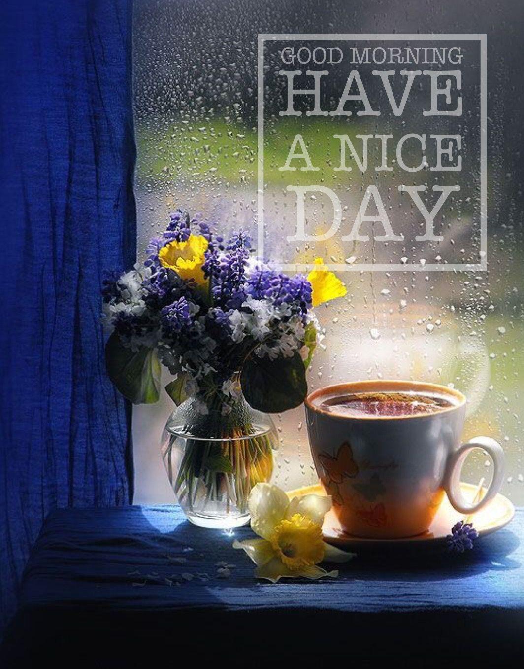 Pin by Jaz Tan on Greetings Rain and coffee, Tea and