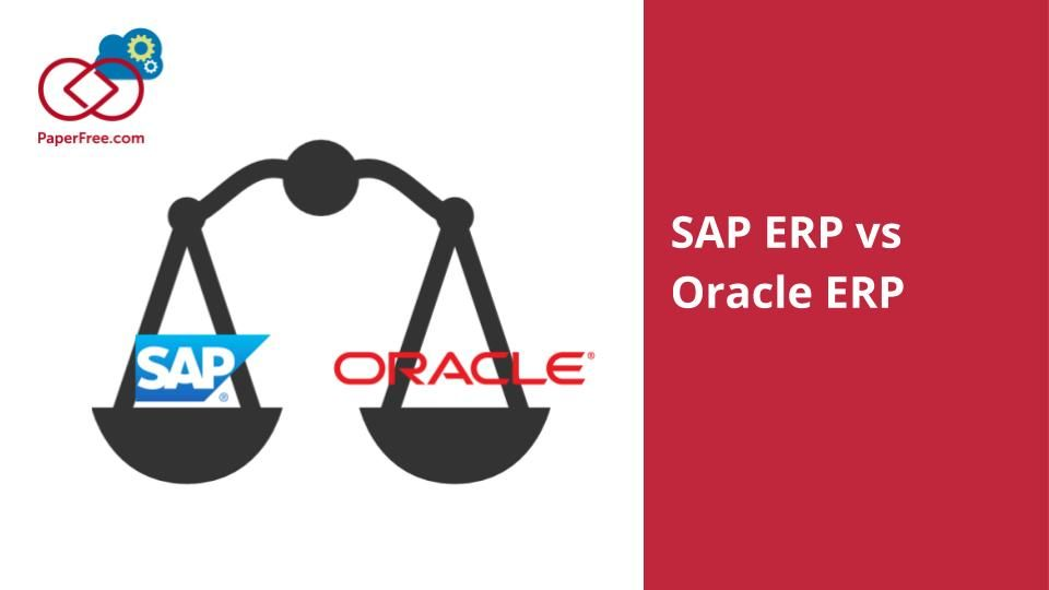SAP ERP vs Oracle ERP Enterprise resource planning software usually ...
