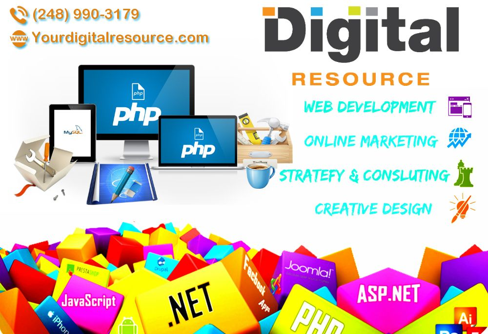 Professional Website Designers In West Palm Beach Digital Resources Internet Marketing Company Digital Marketing