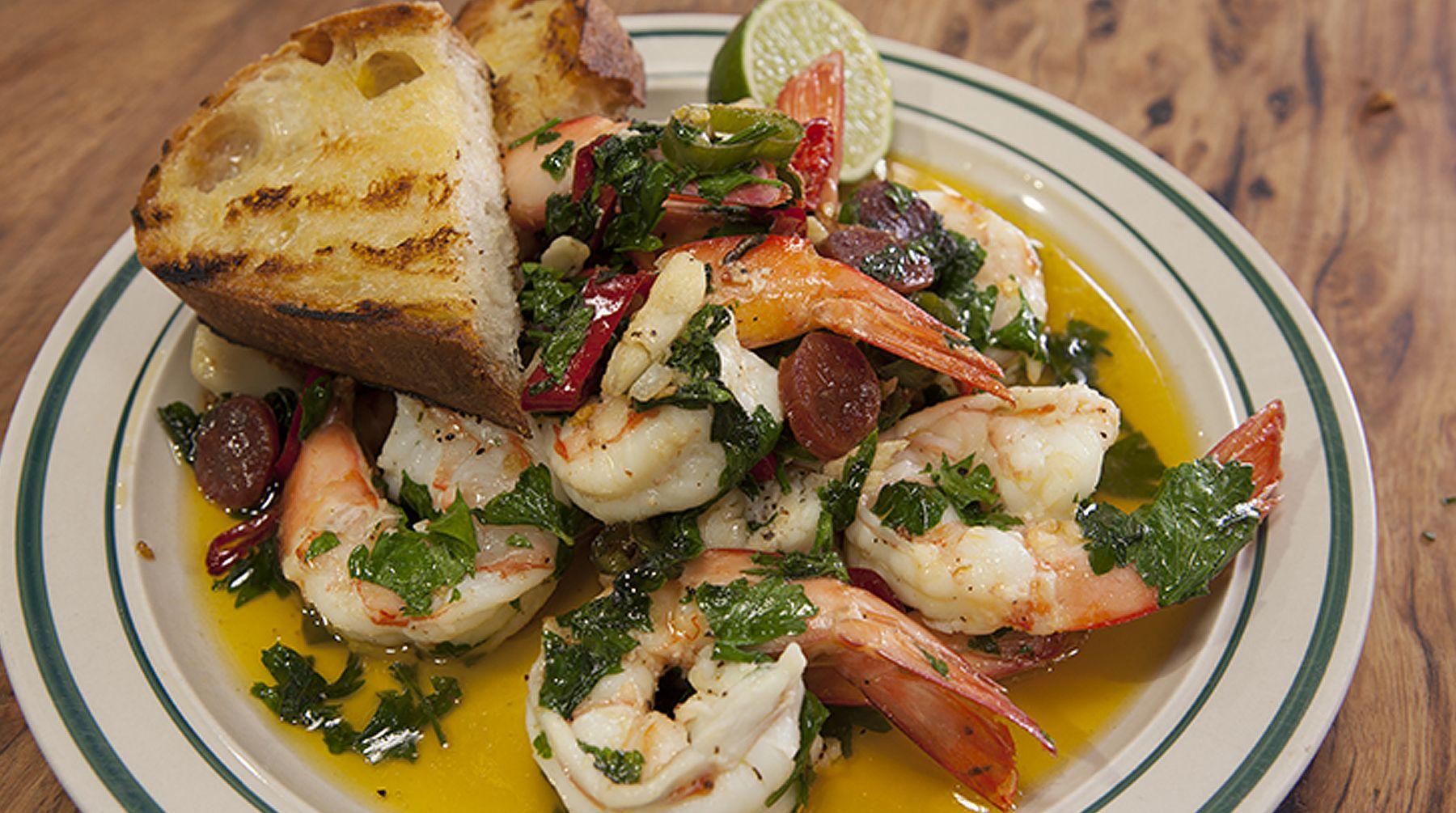 Chilli Prawns | Adrian Richardson | Good Chef Bad Chef